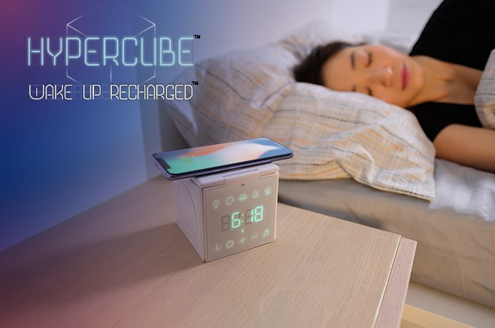 HyperCube: The Wireless Charger That Helps You Sleep