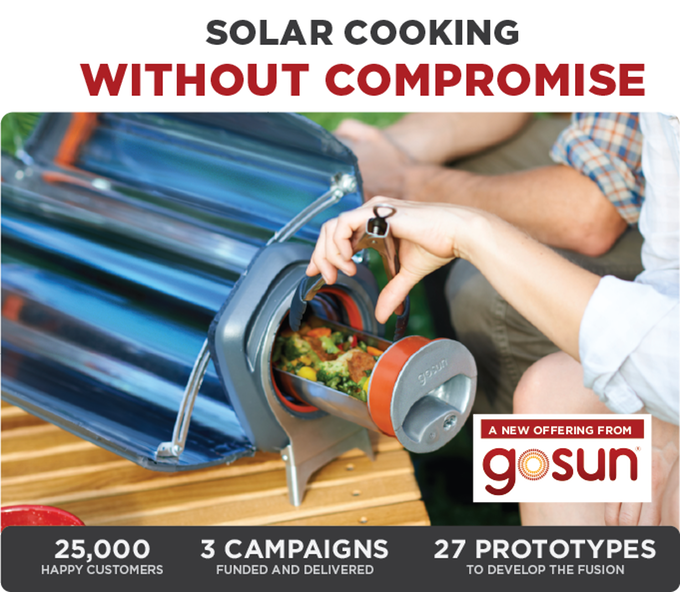 GoSun Fusion: The Solar Powered Electric Oven
