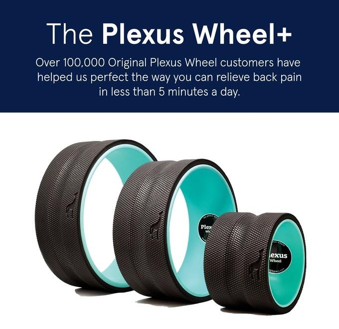 Plexus Wheel+ | The Worlds Simplest Back Pain Relief
