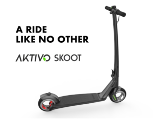 AKTIVO Scoot – A light, powerful, and versatile scooter for everyday use.