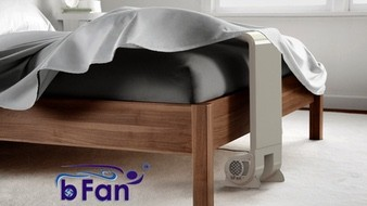 The bFan® Cooler: more restful nights sleep