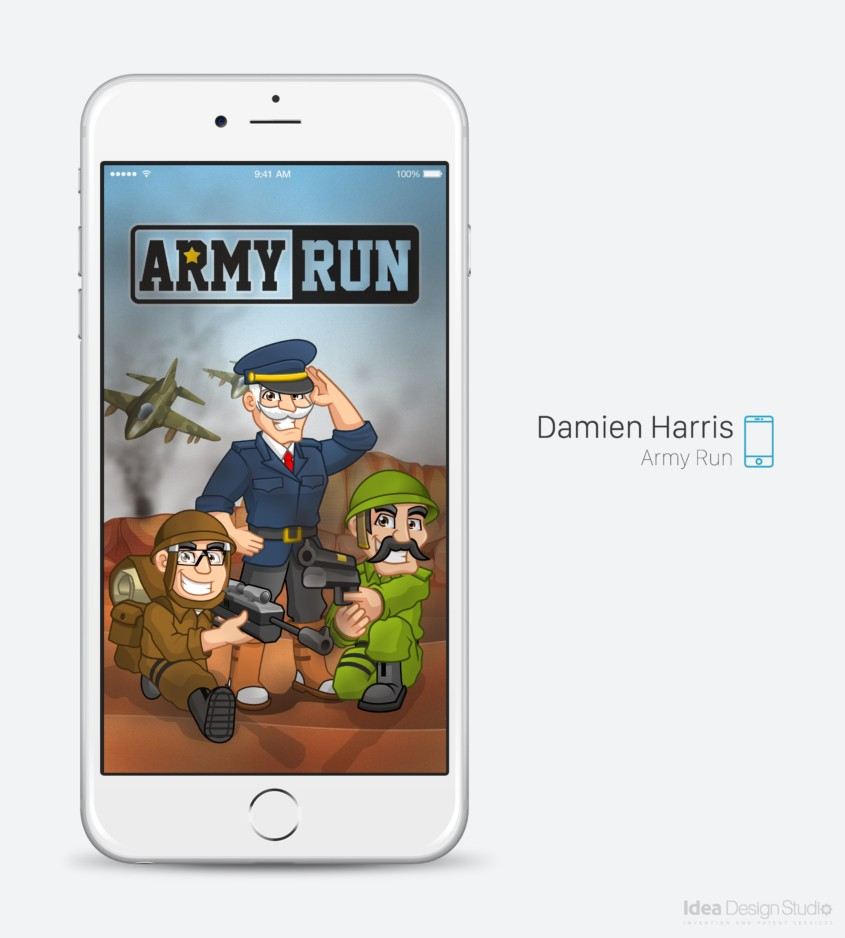 Army Run A New Military-Style Runner for iOS and Android