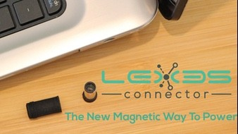 "LEXES magnetic ""Snap"" plug to connect your power cord to your laptop for under $5"