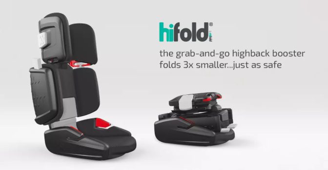 hifold A safe, portable and compact booster seat