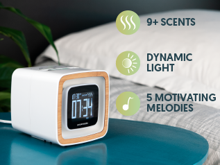 Sensorwake Trio The Alarm Clock that Stimulates your Senses