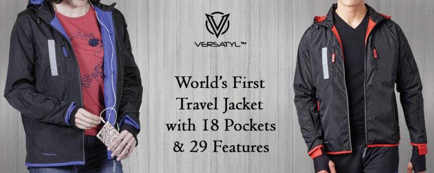 The Best TRAVEL JACKET with 18 Pockets Features. Purchase Now.