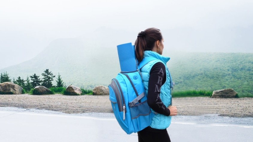 Multipurpose Backpack with Solar Charger; Never run out of power