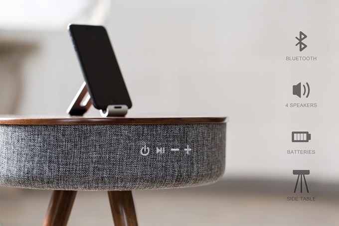 Multimedia Smart Table Bluetooth Speaker + Powerbank: Pre-Order