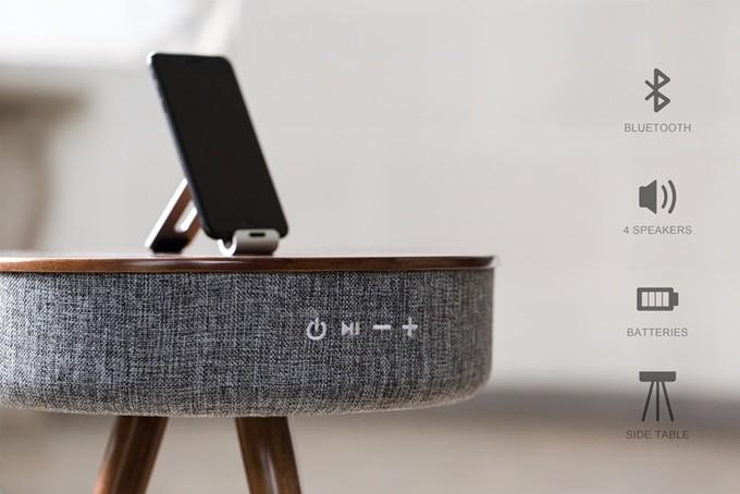 Multimedia Smart Table Bluetooth Speaker + Powerbank: Pre-Order