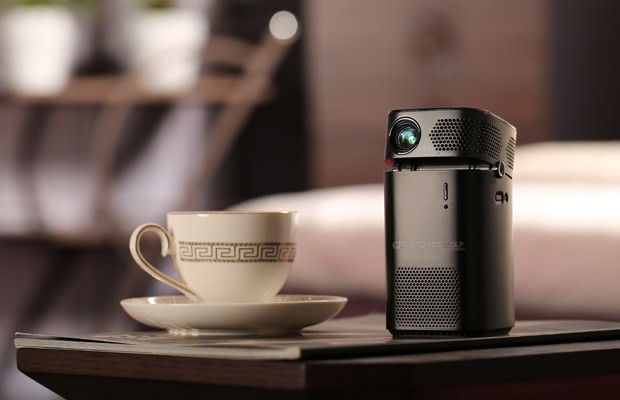 KERUO L7: Portable Smart Projector have a big screen in your hands.