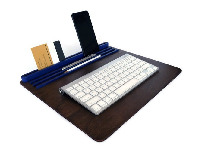Modern Desk Organizer and Lap Tray for Tech Lover Gifts!
