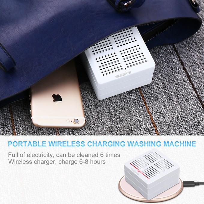 WASHWOW 2.0 Fully Portable Wash Disinfect Gadget With No Detergen