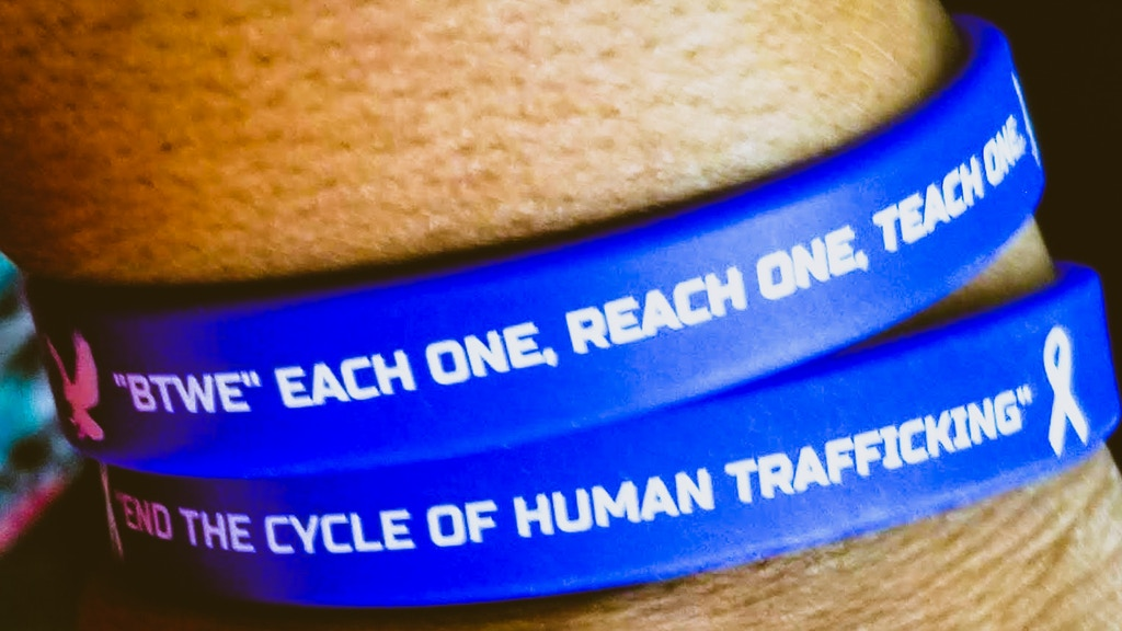 END THE CYCLE OF HUMAN TRAFFICKING